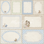 Journaling cards blue