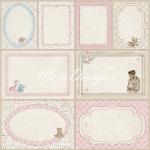 Journaling cards pink
